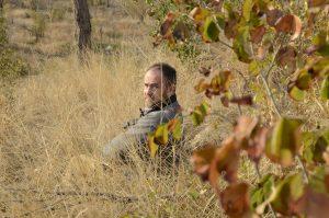 dad sitting during safari