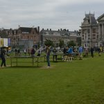 ping pong tables outside in amsterdam