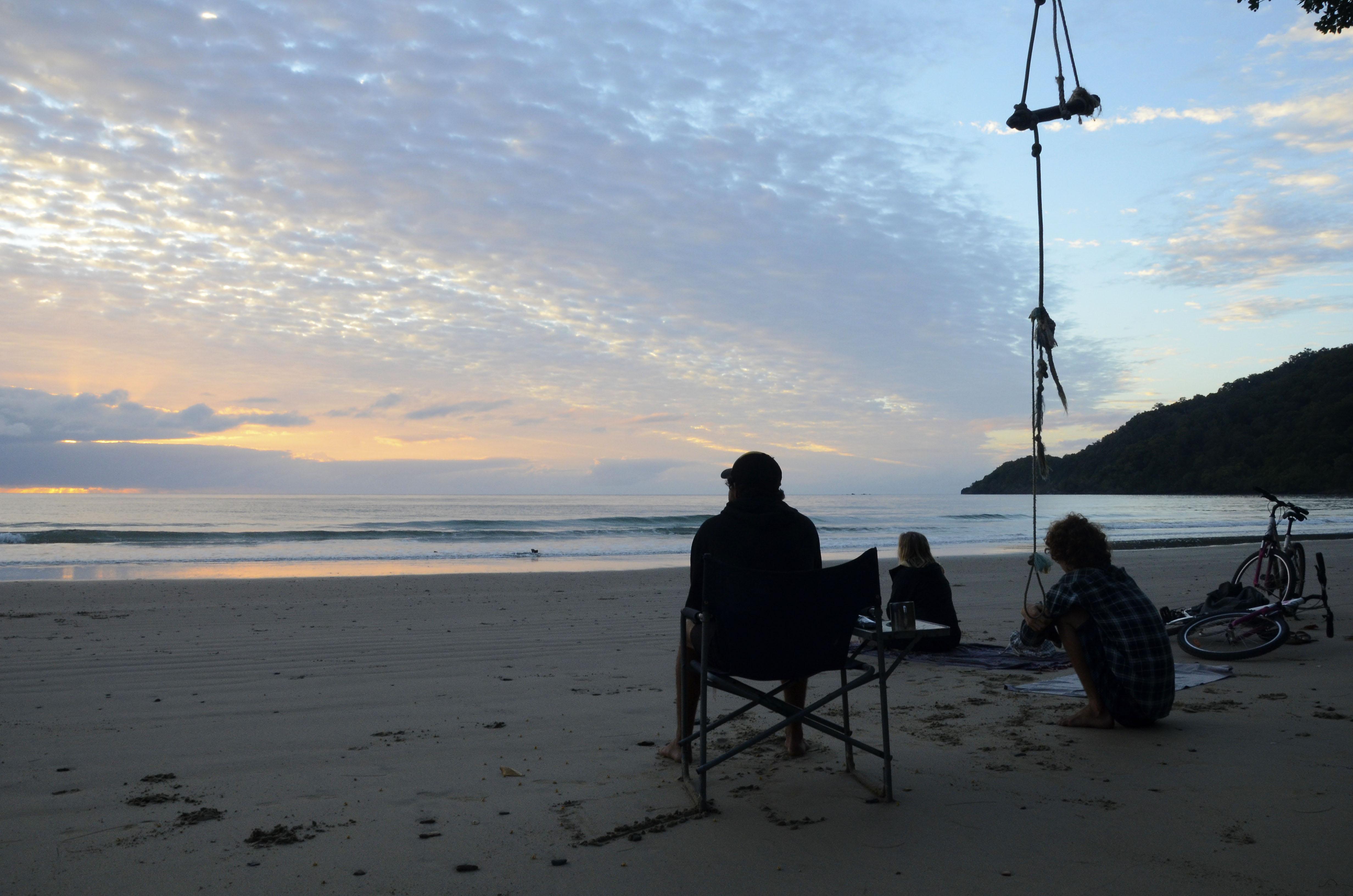 sunrise at cow bay